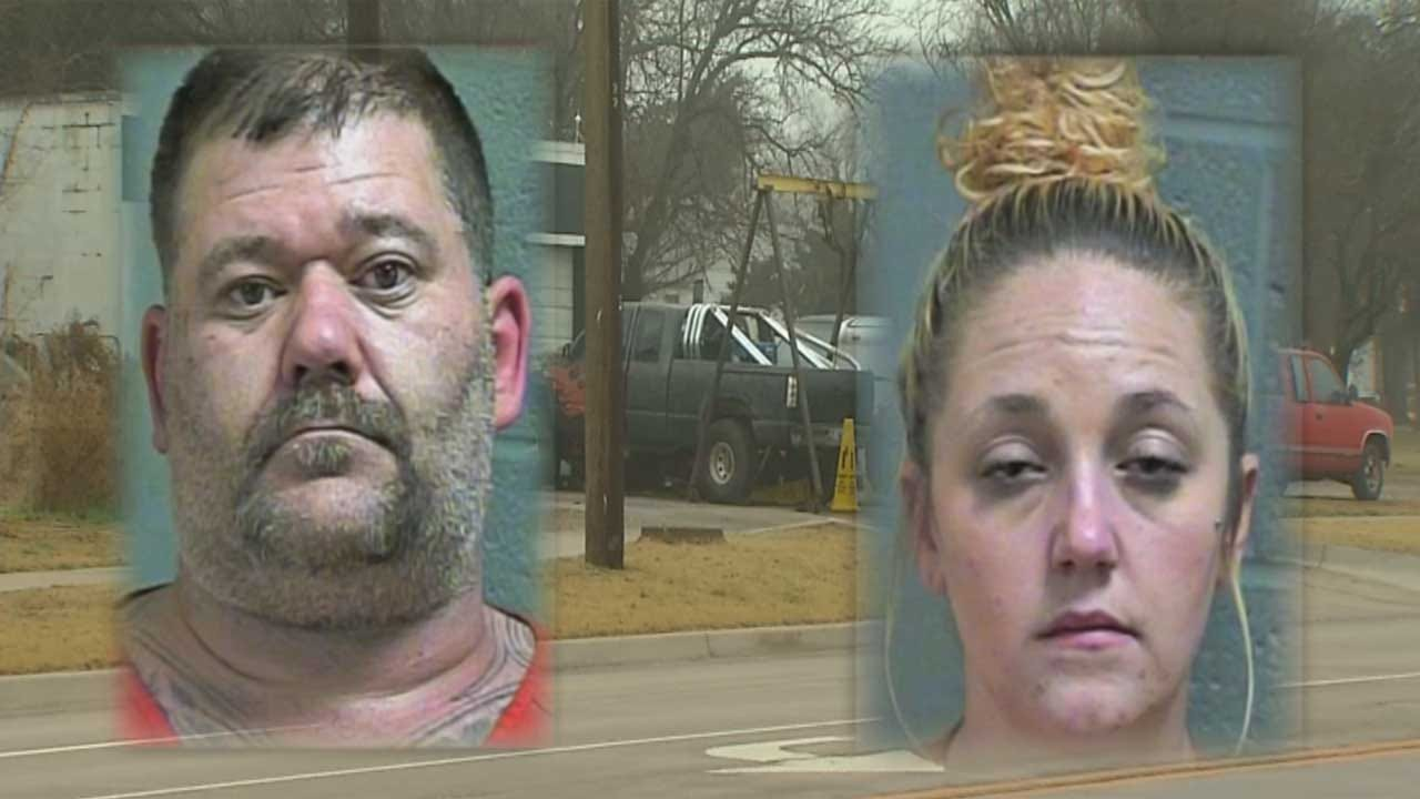 Police Seize Drugs, Weapons And Stolen Property From Alleged OKC 'Chop Shop'