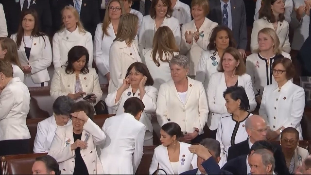 Why Women Wore White At The State Of The Union Address