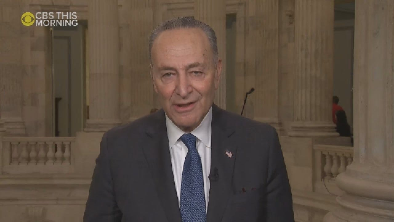 Chuck Schumer Says Government Will Remain Open If Trump 'Stays Out' Of Negotiations