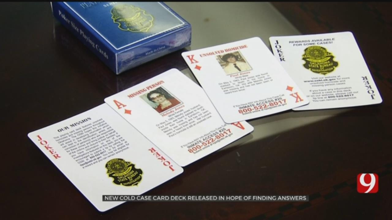 Cold Case Featured In New OSBI Card Deck