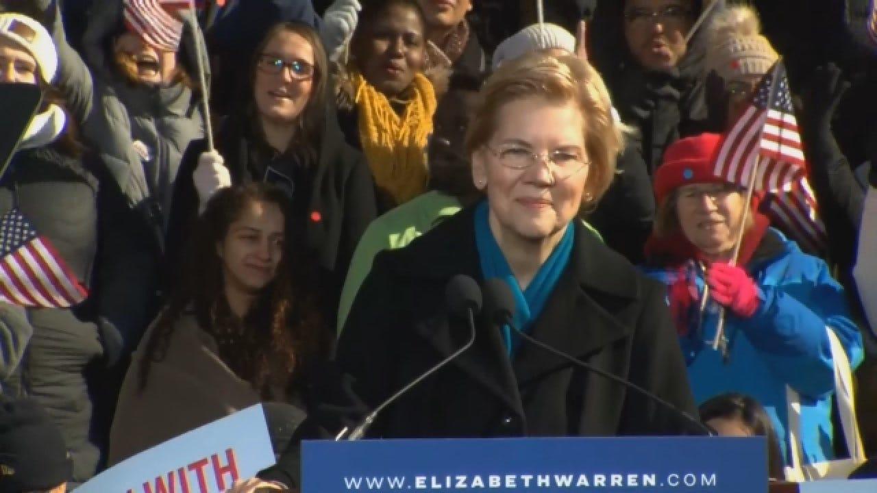 Sen. Elizabeth Warren Announces Candidacy For 2020 Presidential Election