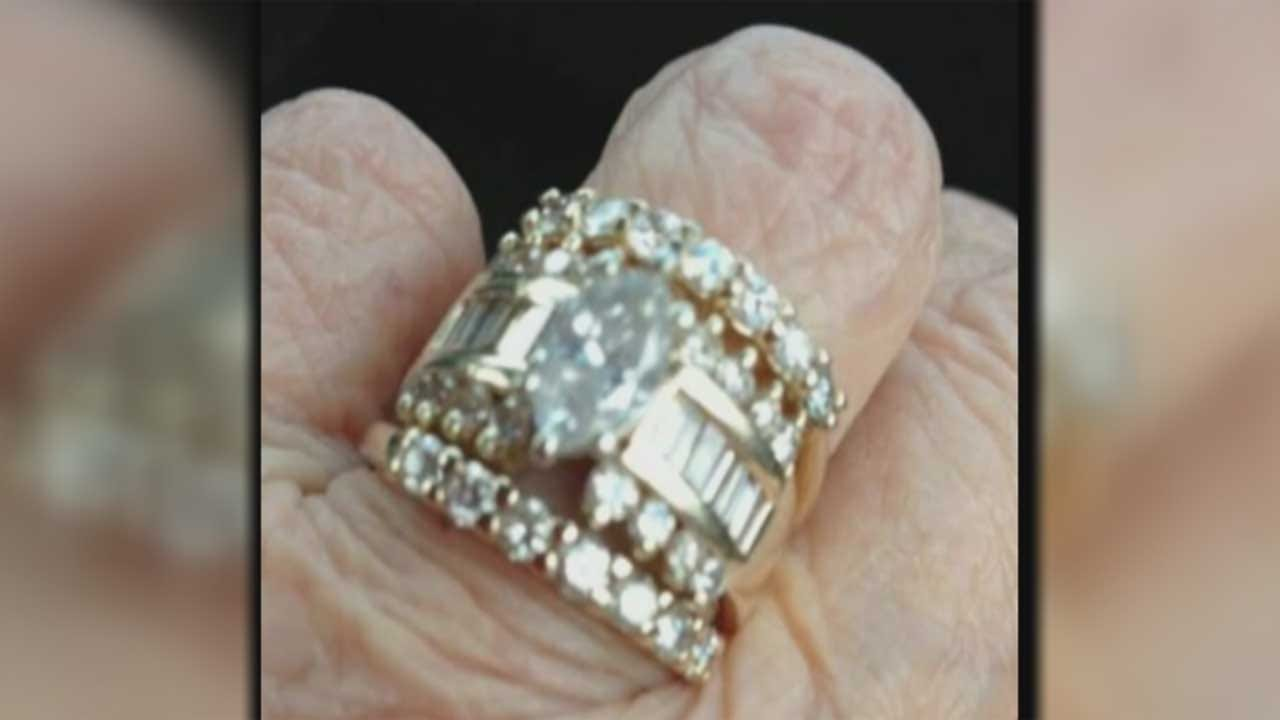 Family Believes Wedding Ring Was Stolen From Sleeping Elderly Woman's Hand