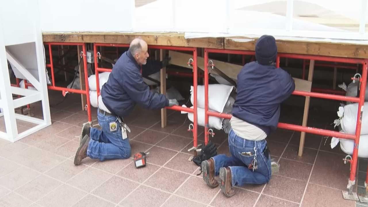 Preparations Underway Ahead Of Kevin Stitt's Inauguration Ceremony Monday
