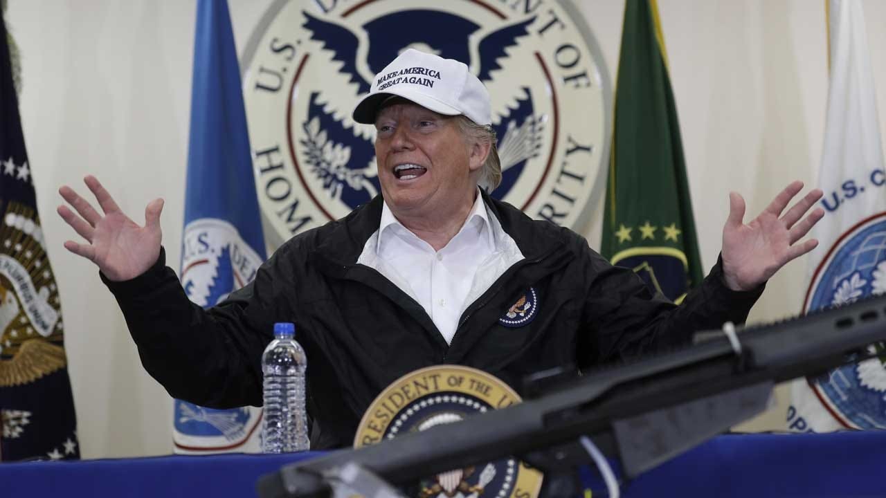 President Trump Claims He 'Never Meant' Mexico Would 'Write A Check' To Pay For Wall