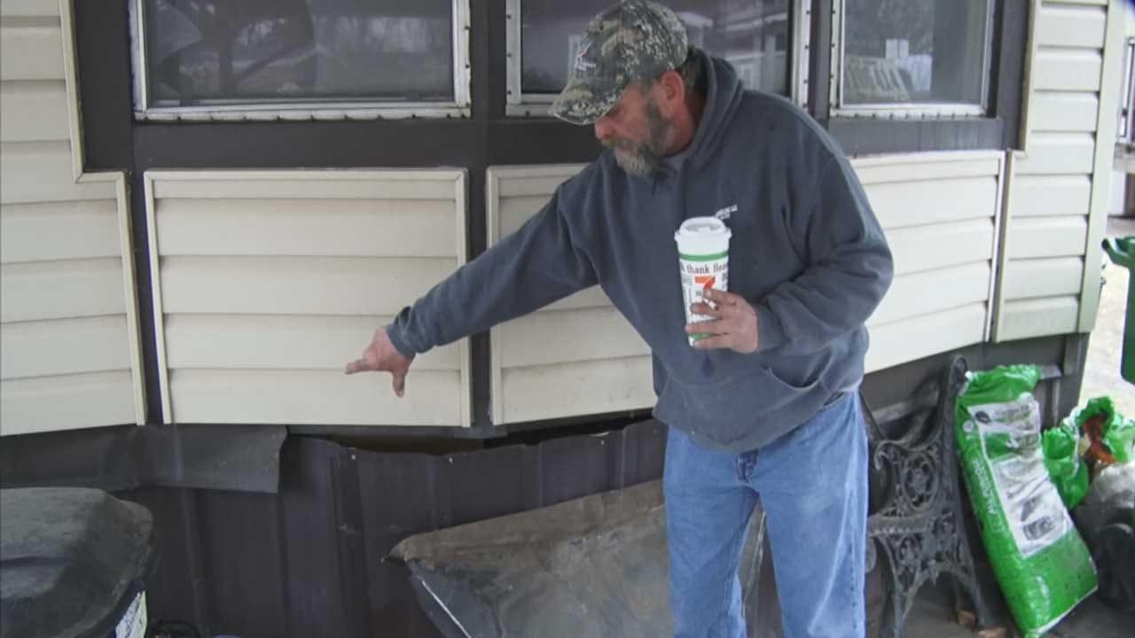 OKC Trailer Park Owner Accused Of Damaging Mobile Homes