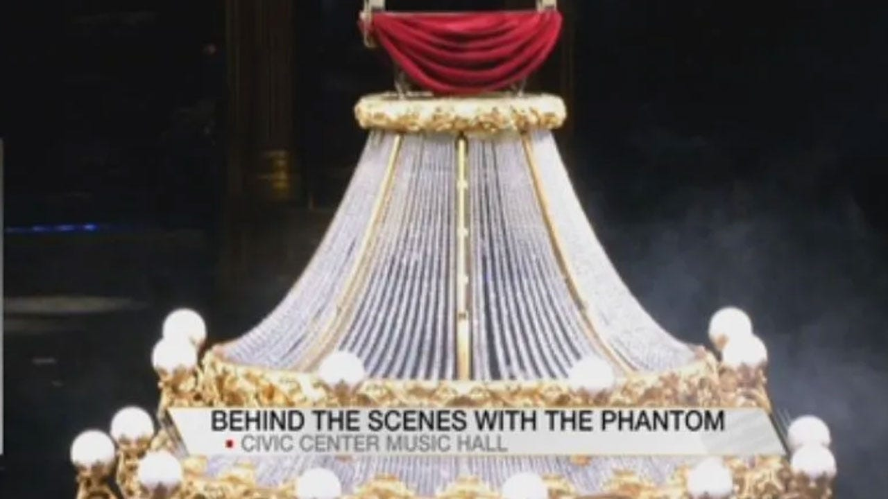 Phantom Of The Opera Makes Its Way Back To OKC's Civic Center