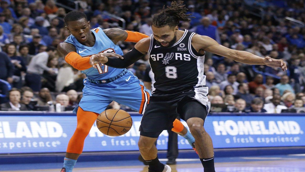Westbrook, Schroder Lead Thunder Past Spurs, 122-112