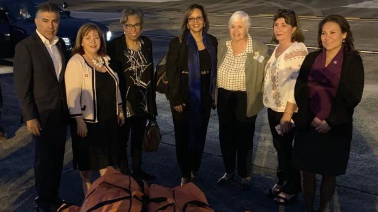 Congressional Delegation Visits Puerto Rico As Shutdown Continues