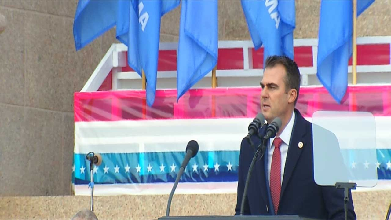 Gov. Kevin Stitt To Present His 1st State Of State Address
