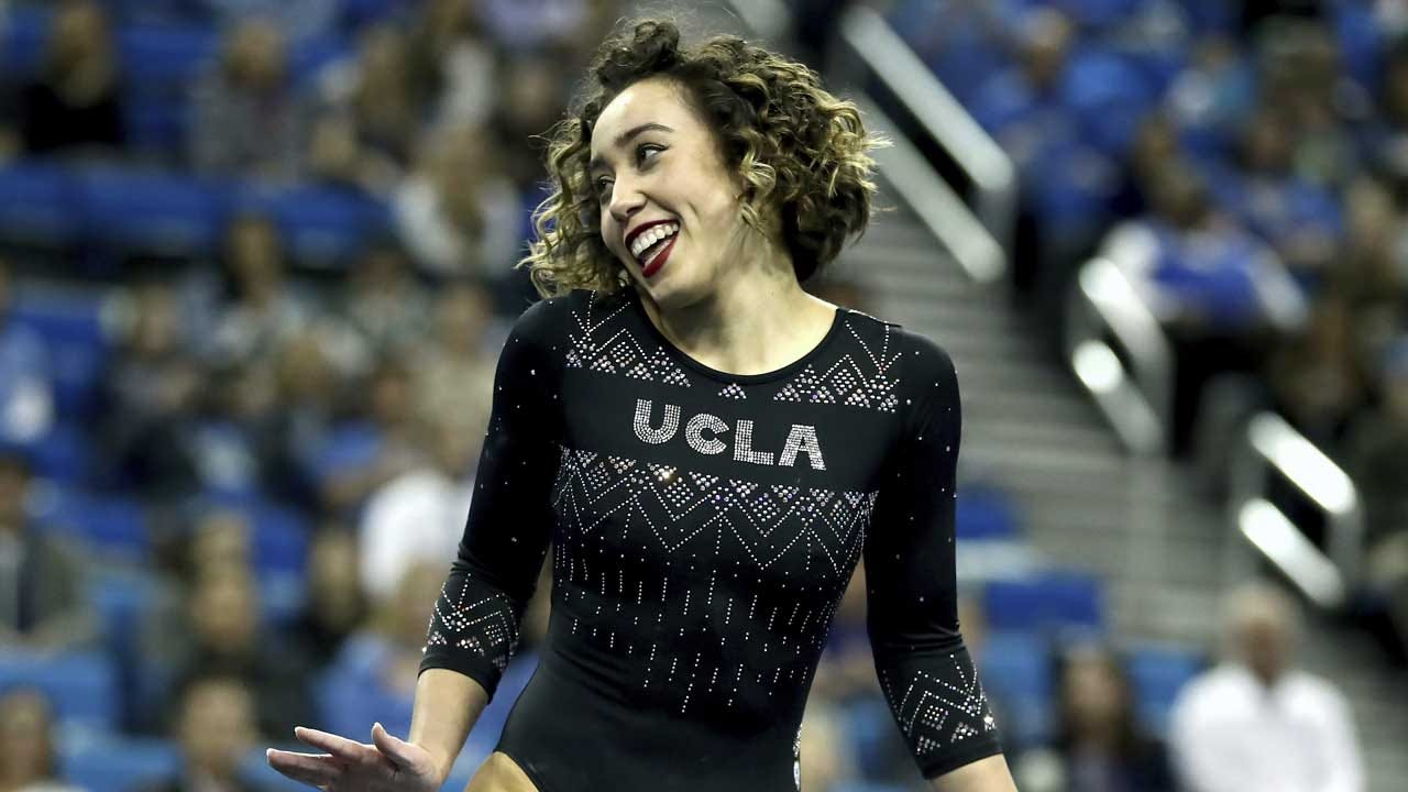 UCLA Gymnast Katelyn Ohashi Stuns Judges With Perfect Floor Routine