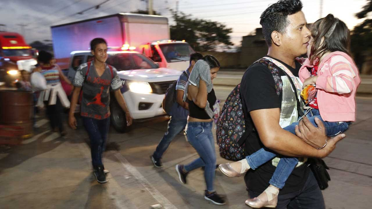 Another Migrant Caravan Heads For US From Honduras
