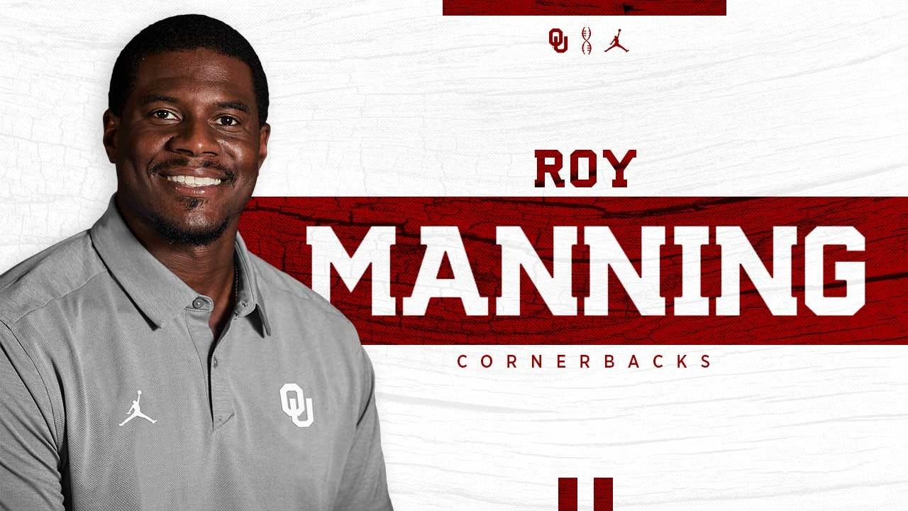 OU Hires Roy Manning As Cornerbacks Coach