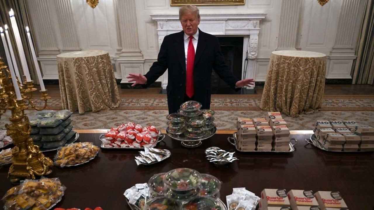 Trump's Burger-Fest Brings Roasting From Late-Night TV Hosts
