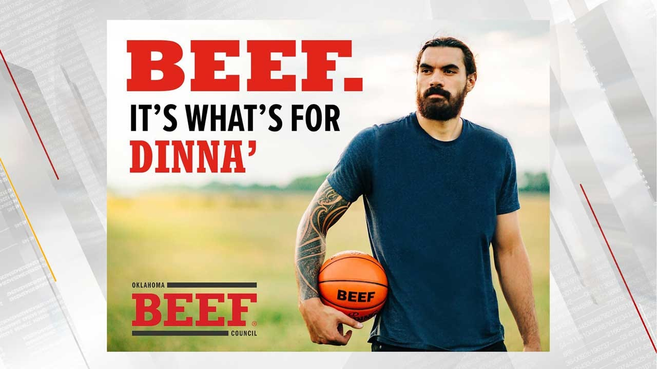 WATCH: Steven Adams Stars In Ad For Oklahoma Beef Council