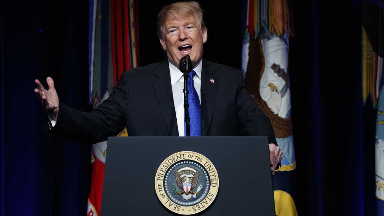 President Trump Retaliates Against Pelosi, Says He's Postponing Her Trip Abroad