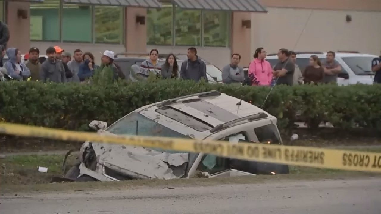 14-Year-Old Driver Allegedly Hits, Kills Houston Woman