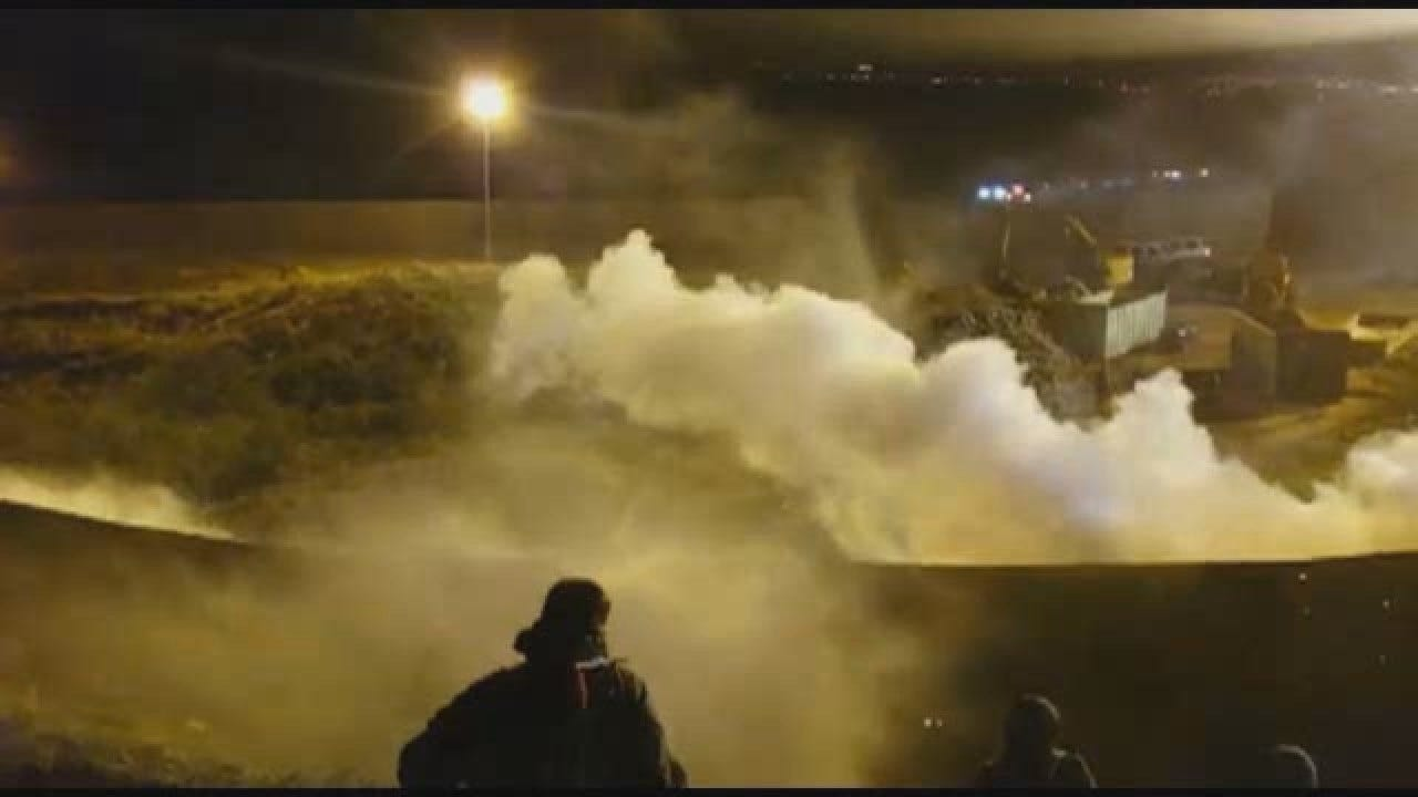 US Fires Tear Gas Across Mexican Border To Thwart Migrants