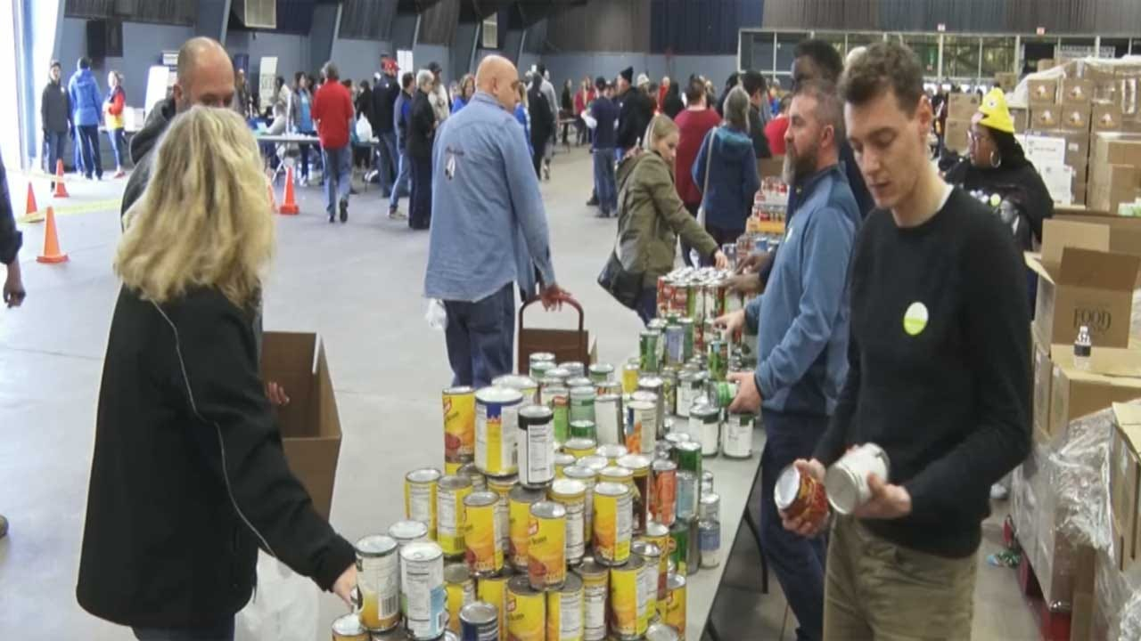 Food, Resources Offered To Furloughed Federal Workers At State Fair Park