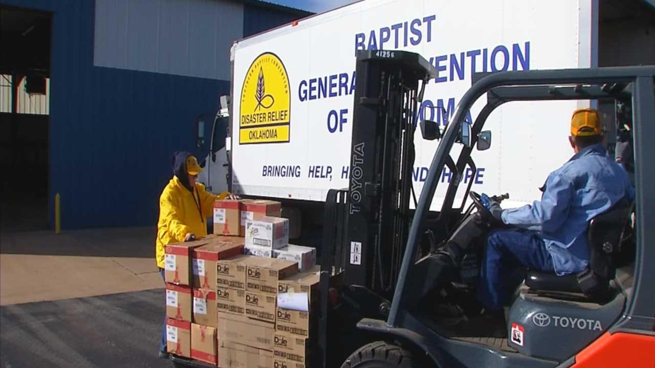 Oklahoma Baptist Disaster Relief Volunteers Prepare To Help Furloughed Federal Workers