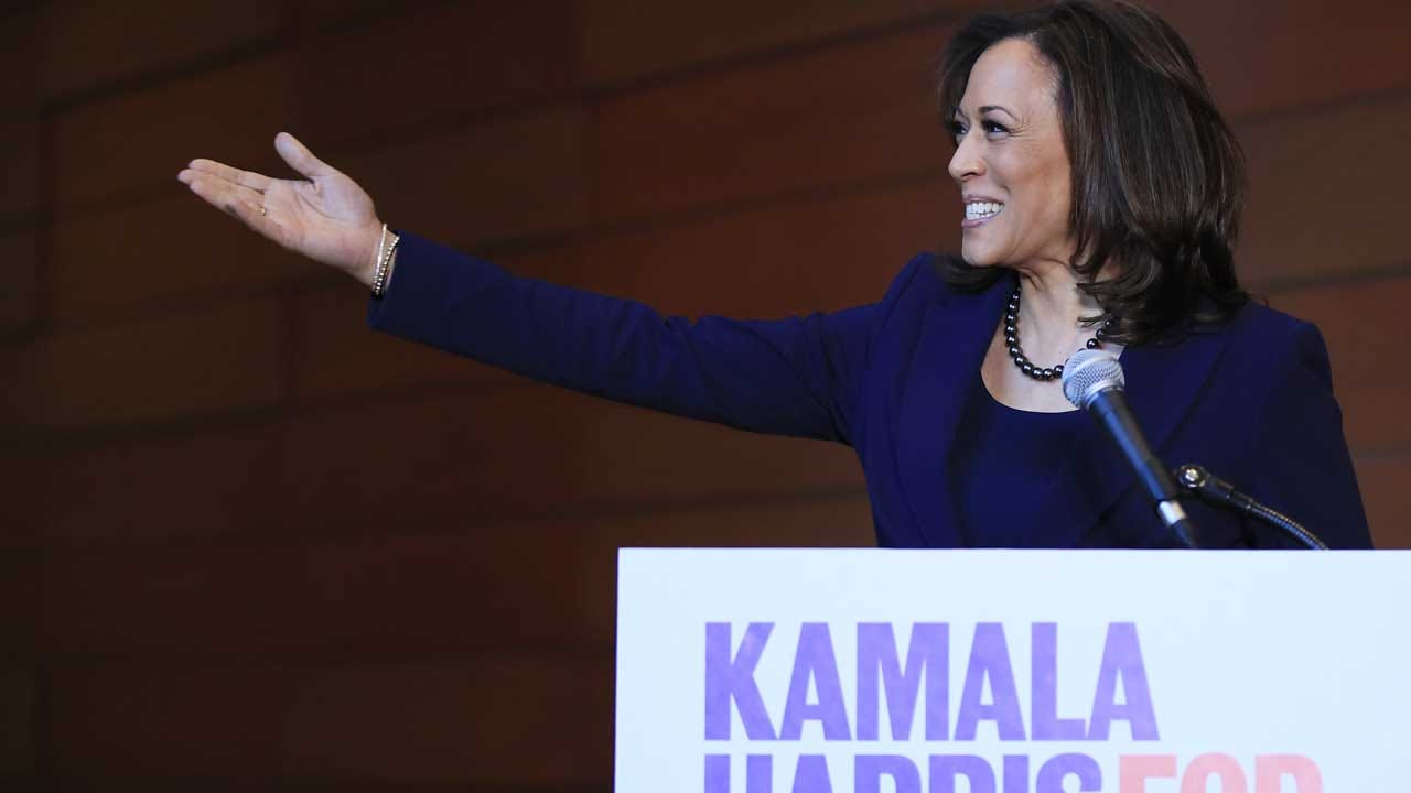 Senator Kamala Harris Speaks After Announcing Presidential Bid