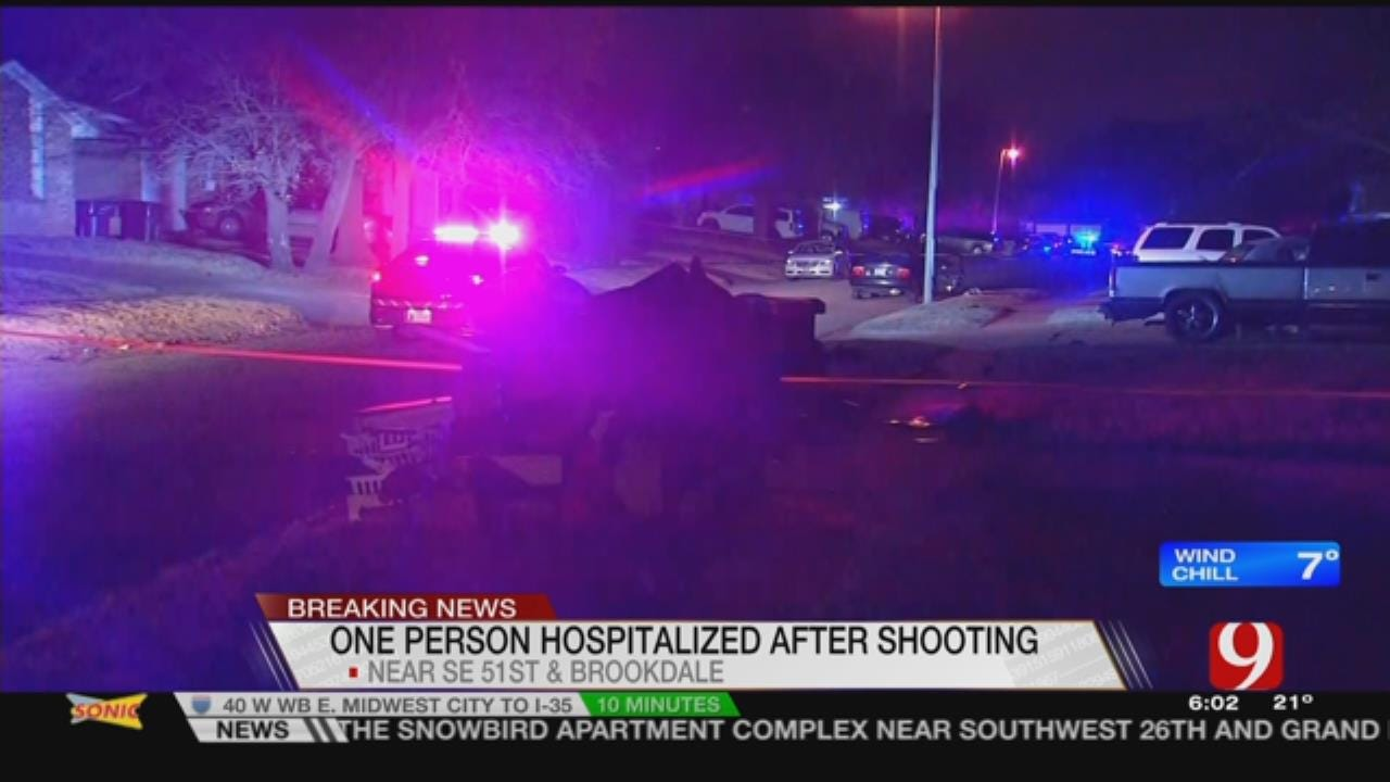 1 Transported Following SE OKC Drive-By Shooting