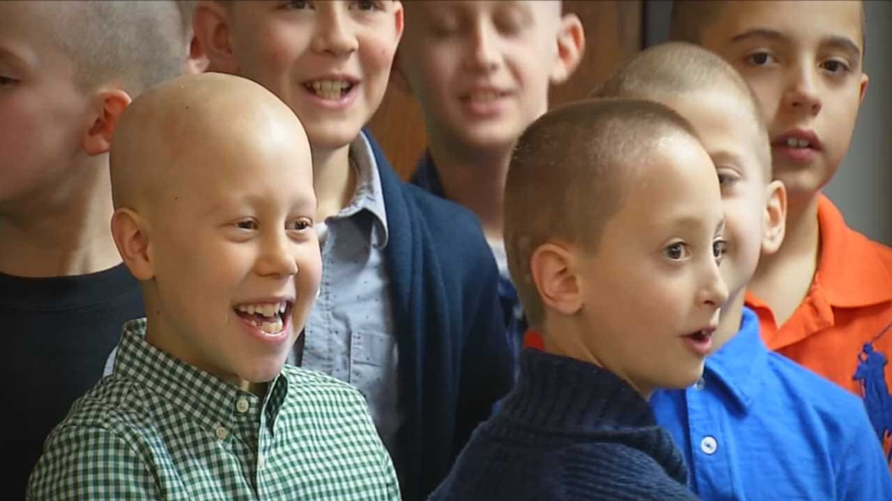 Red Dirt Diaries: Bold And Bald In 3rd Grade