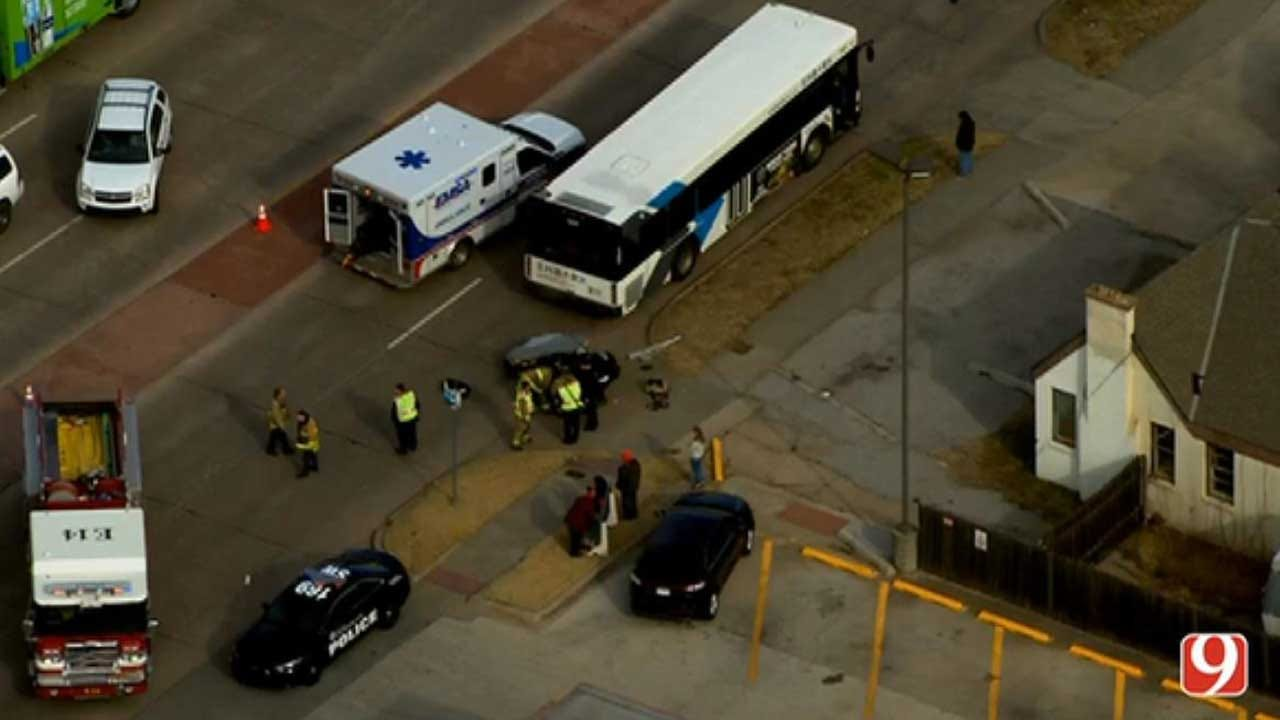 1 Person Struck By EMBARK Bus In NW OKC