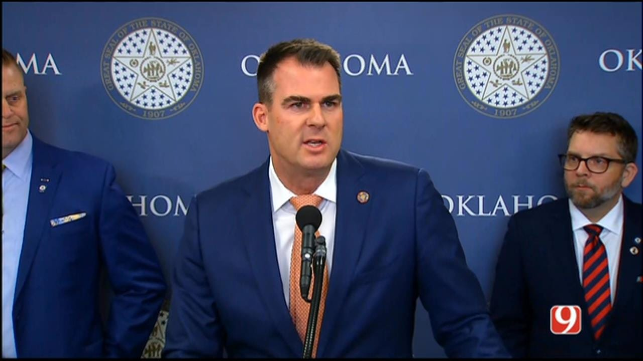 Stitt Announces 1st Executive Orders As Governor