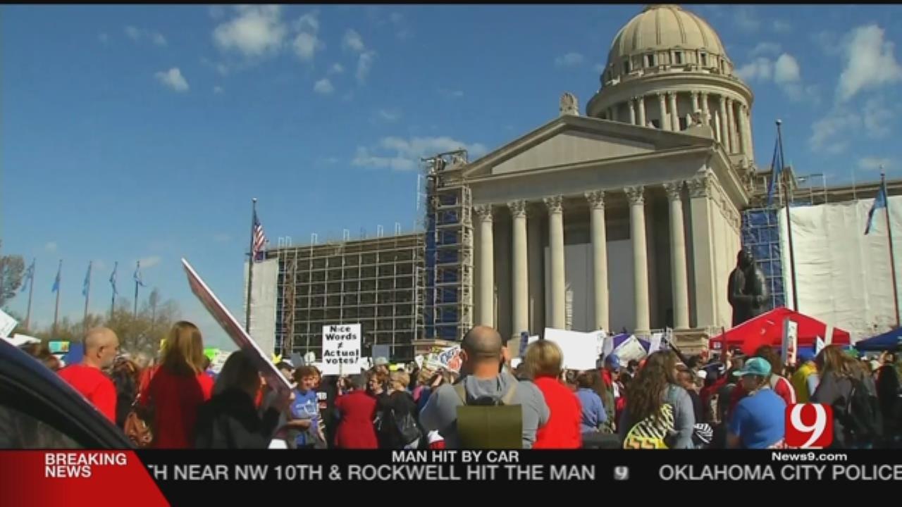 Teachers' Group Calls Walkout Retaliation Bill 'Extreme'
