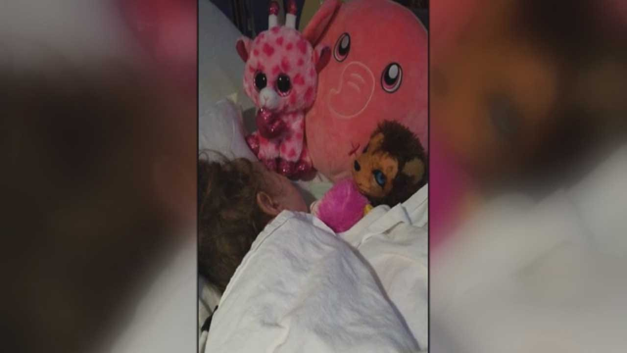Mother Expects Long Road To Recovery For Young Daughter After Alleged DUI Crash