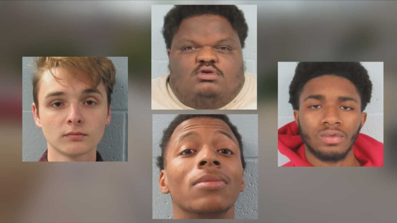 911 Captures Edmond Home Invasion In Progress; 4 Suspects Arrested