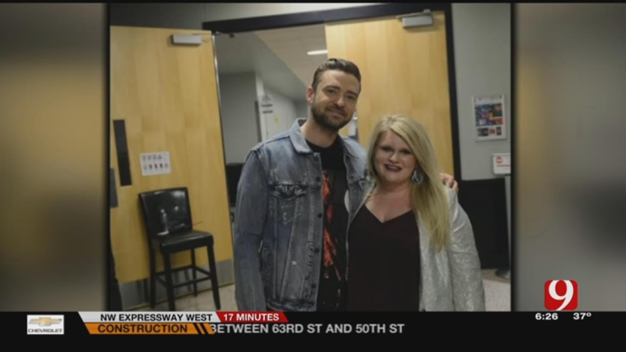 Local Woman Gets Surprise Of A Lifetime, Meets Justin Timberlake
