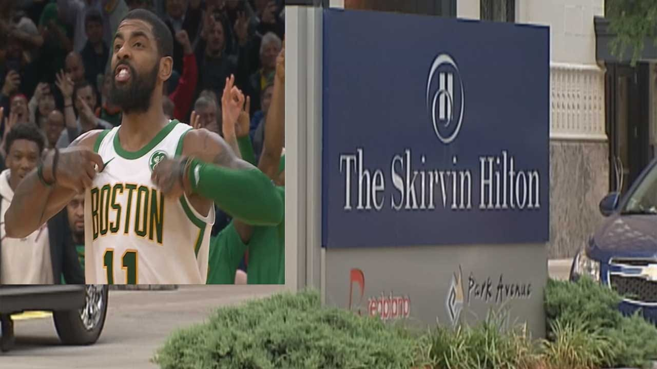 Kyrie Irving Reportedly To Star In, Produce Horror Movie Based On 'Haunted' OKC Hotel