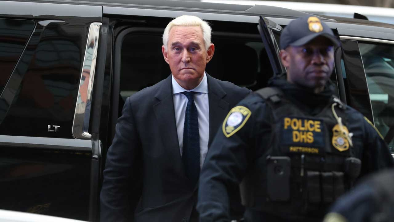 Roger Stone Pleads Not Guilty