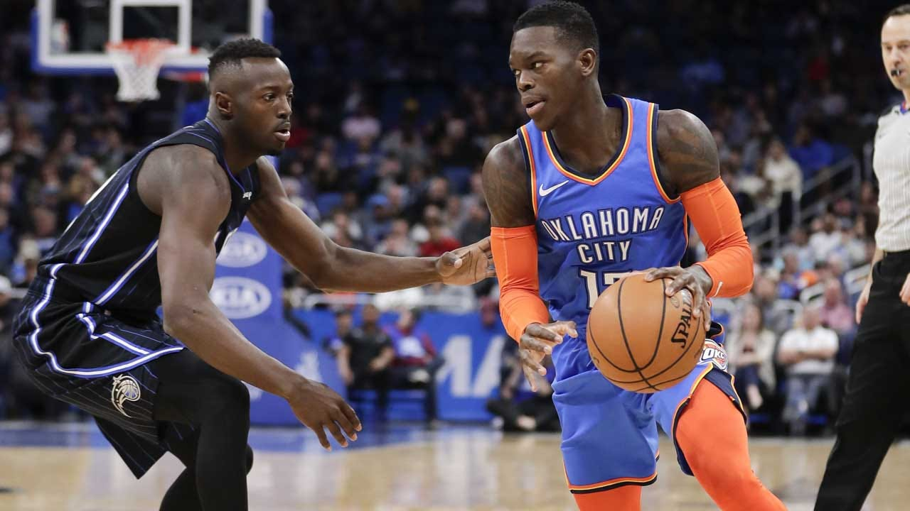 Schroder Scores 18 In 4th To Rally Thunder Past Magic