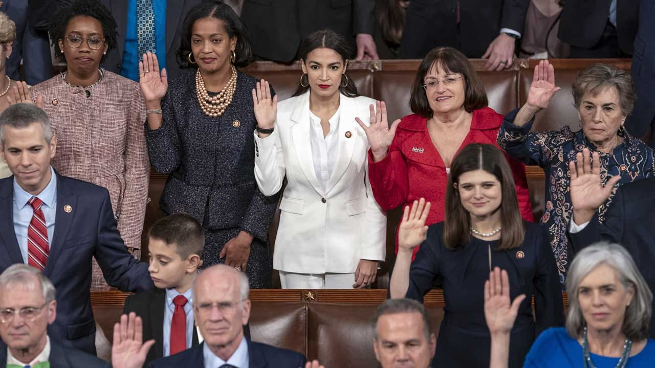 116th Congress Takes Office As The Most Diverse In U.S. History