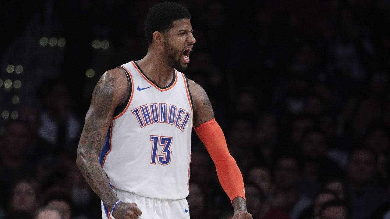 Paul George Gets 37 Amid Boos In OKC's 107-100 Win At Lakers