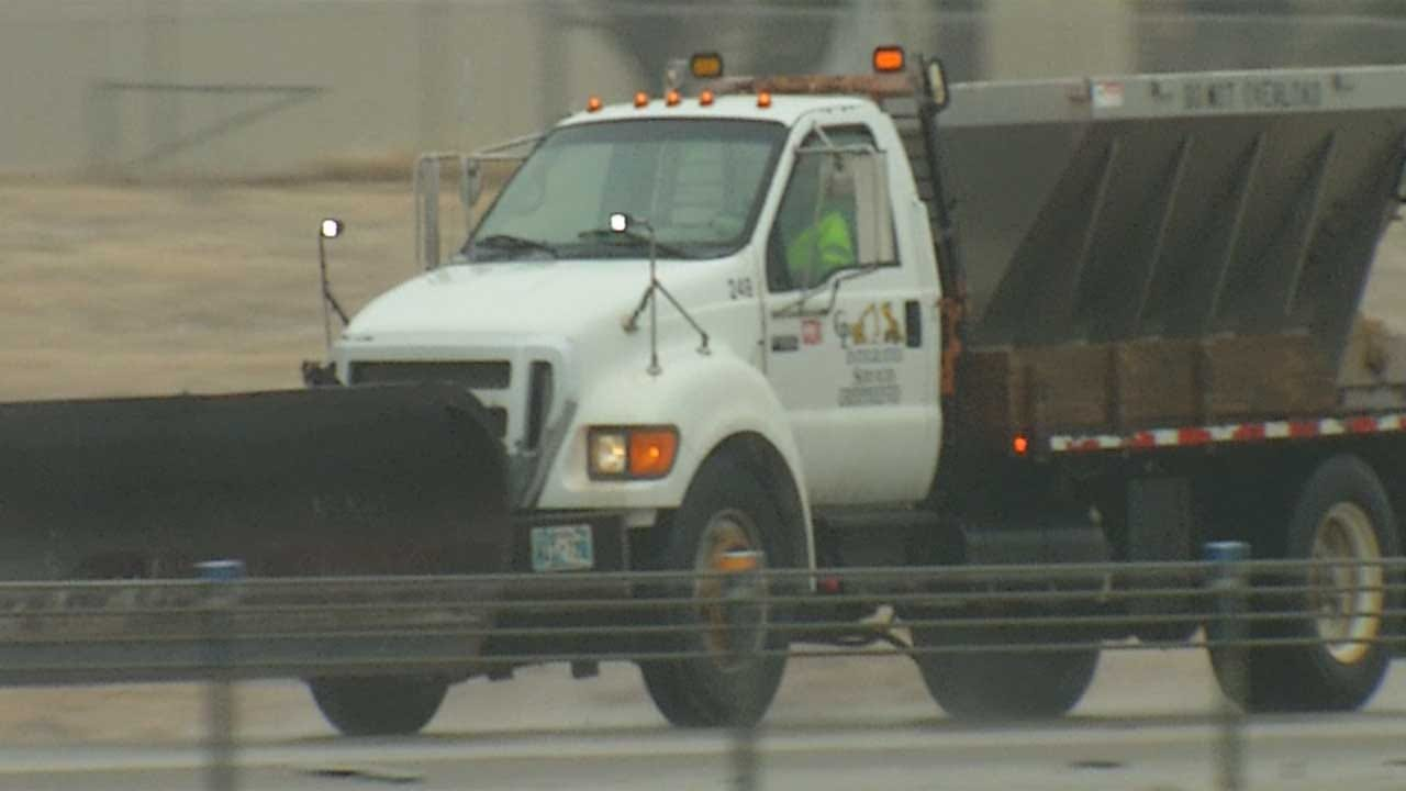 Plowing Across Oklahoma: Ride-Along With ODOT In Winter Storm