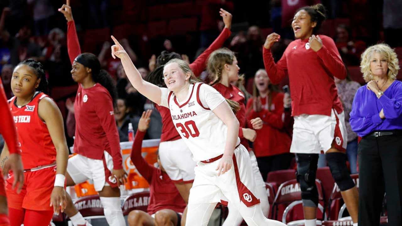 Sooners Rally To Take Down Texas Tech