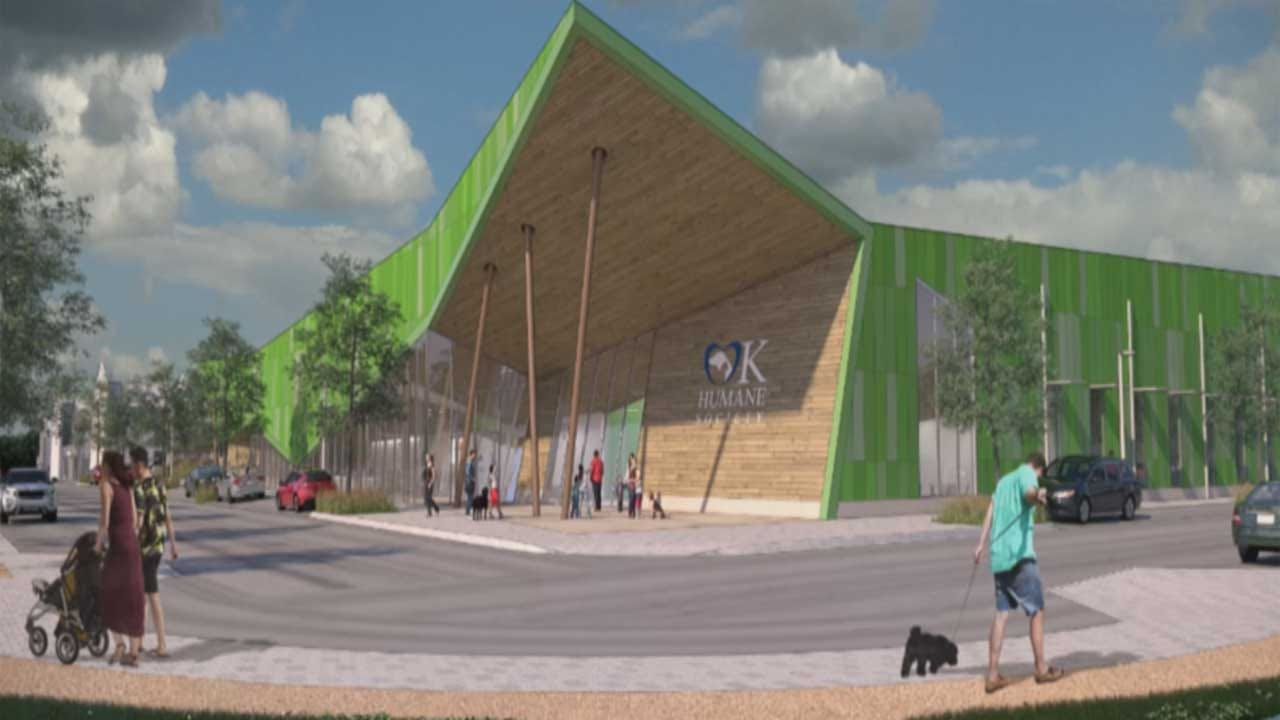 New Campus For Oklahoma Humane Society Proposed To City Officials
