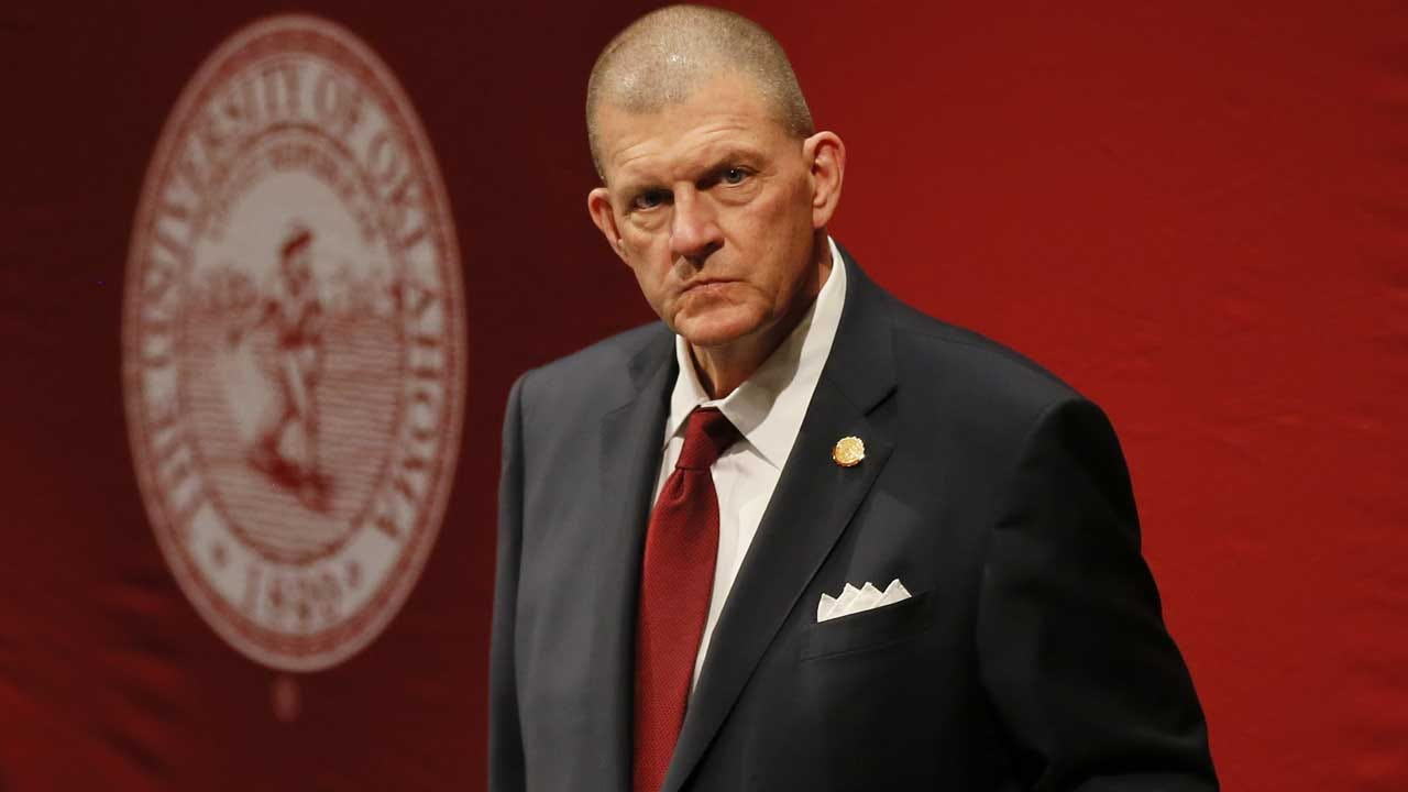 OU Board Of Regents Chairman Clay Bennett Steps Down During Meeting