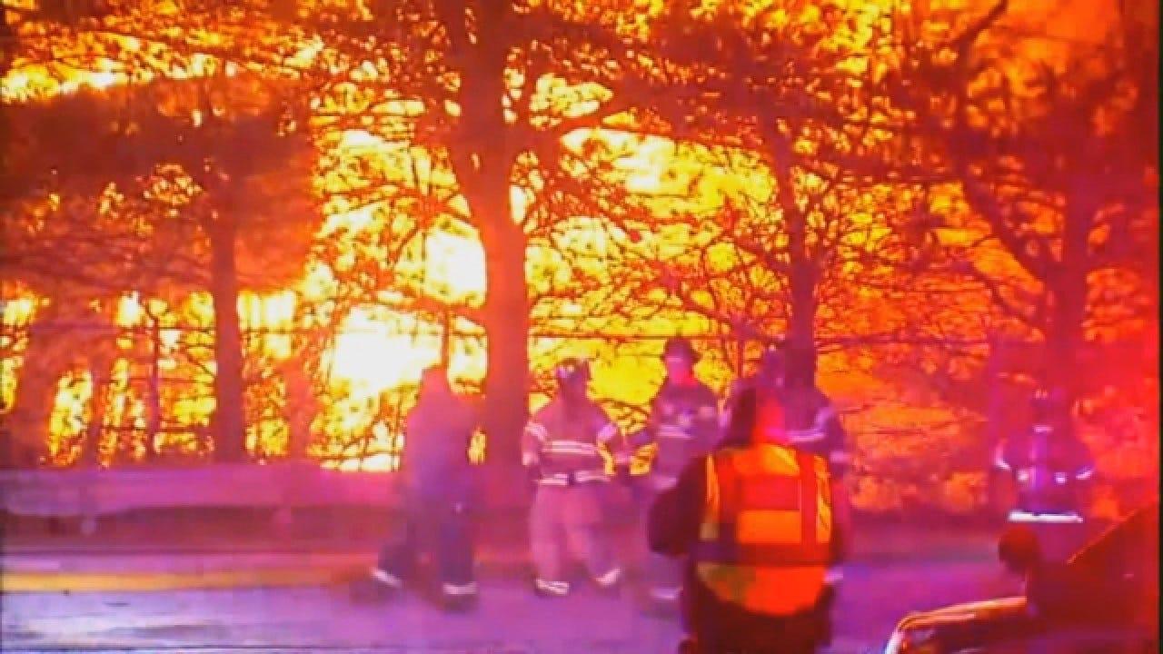 150 Firefighters Battle Eight Alarm Blaze At Paper Warehouse