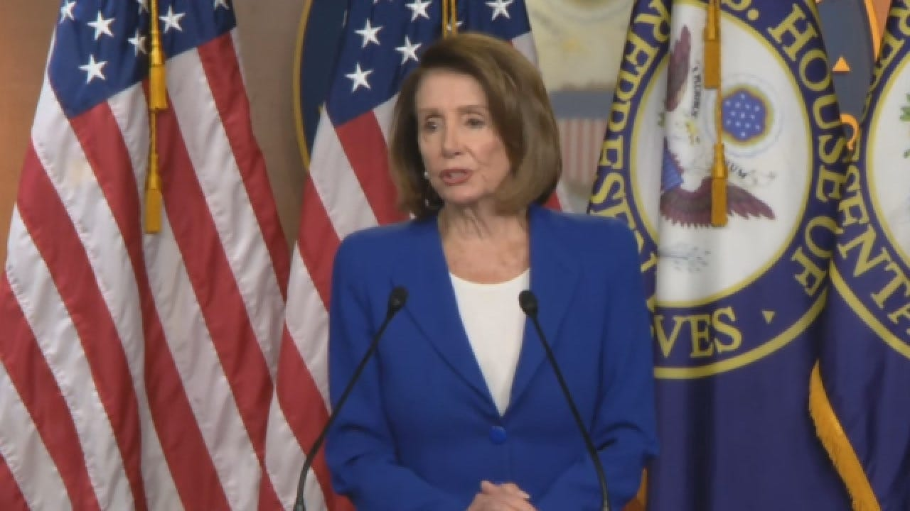 Pelosi Says Trading DACA Protections For Border Wall A 'Non-Starter'