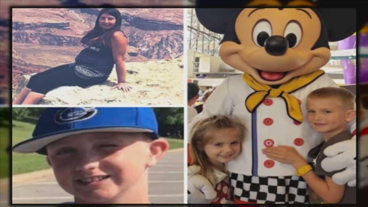 Vigil Celebrates Lives Of 3 Children, Aunt That Died In OKC Apartment Fire