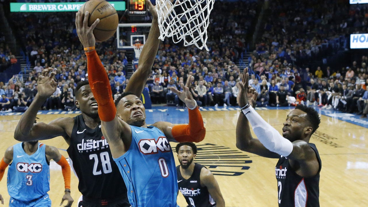 Wizards Top Thunder 116-98