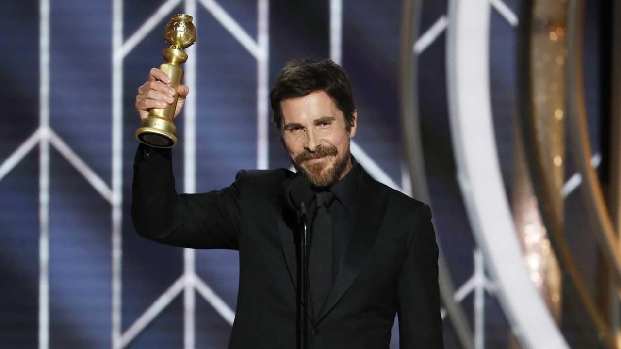Christian Bale Thanks Satan In His Golden Globes Speech