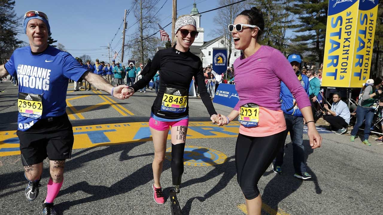 Dancer Who Lost Her Leg In Boston Marathon Bombing Hit By Car, Hospitalized