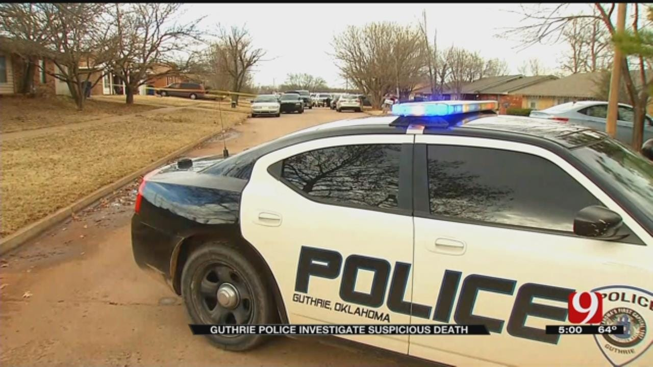 Police Investigate Fatal Guthrie Shooting