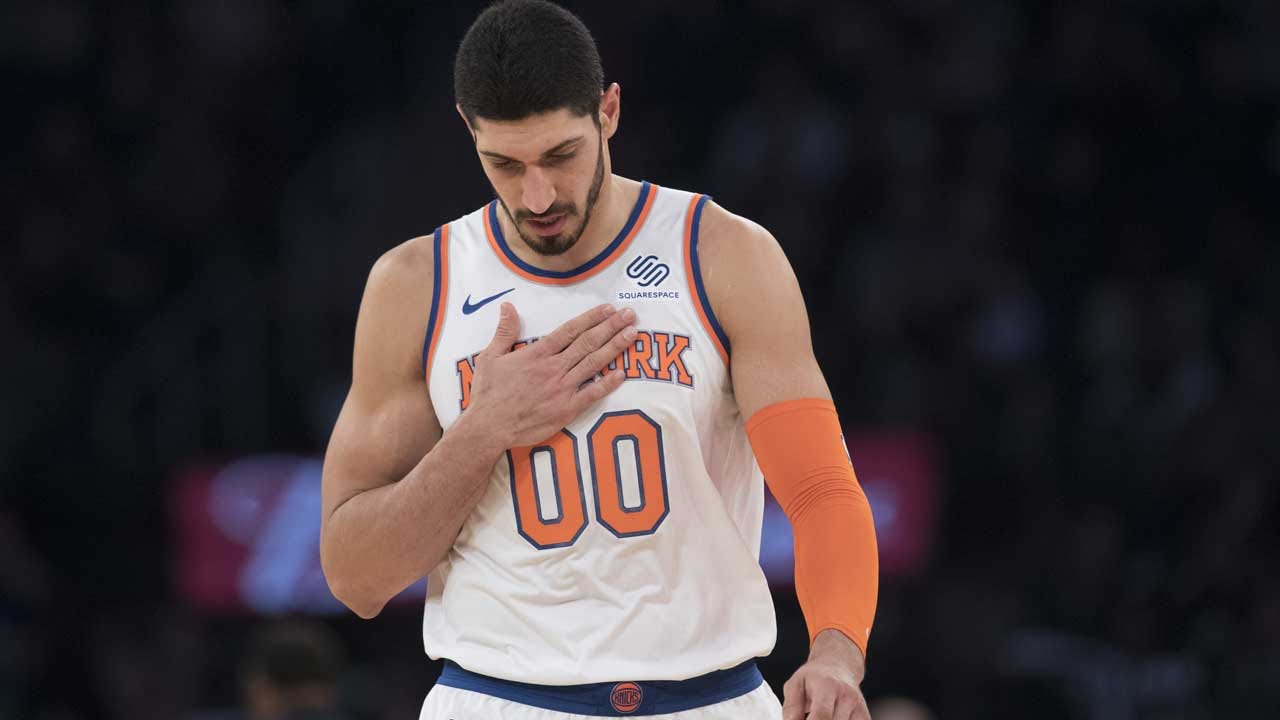 'If I'm In America, I'm Safe': Knicks' Enes Kanter Explains Why He Won't Travel To London