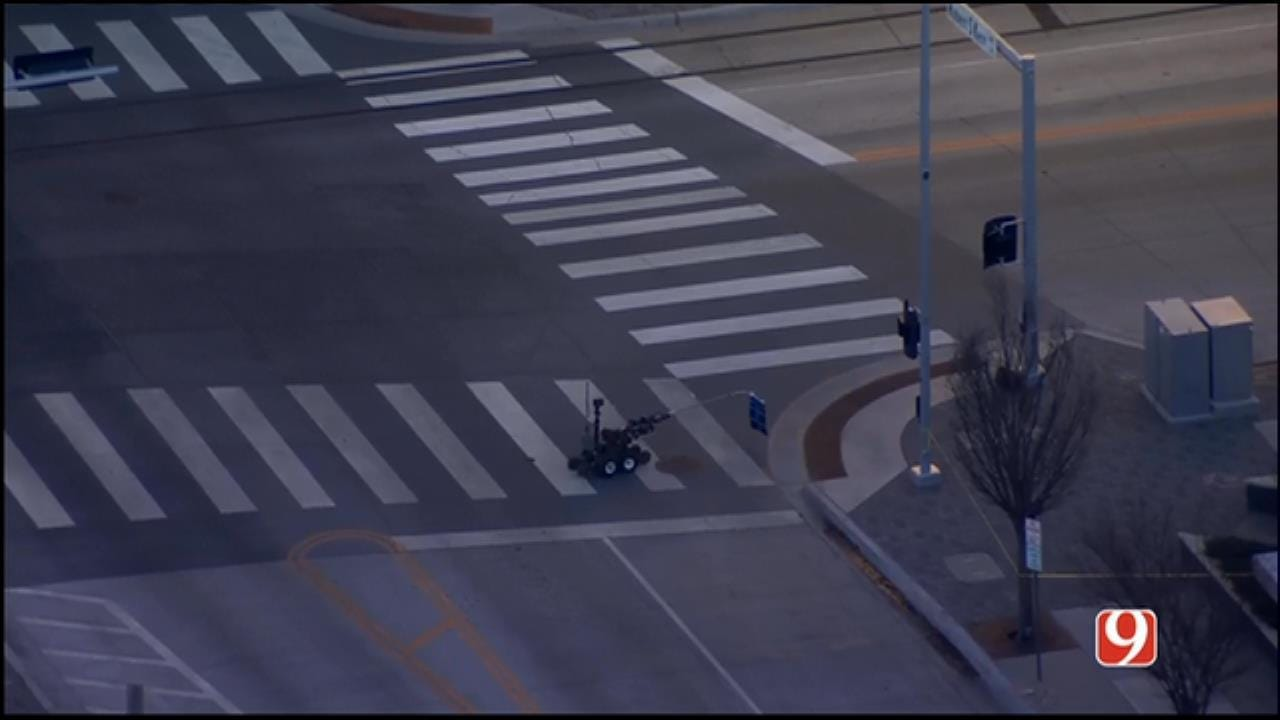 Police Give 'All Clear' After Suspicious Package Reported In Downtown OKC